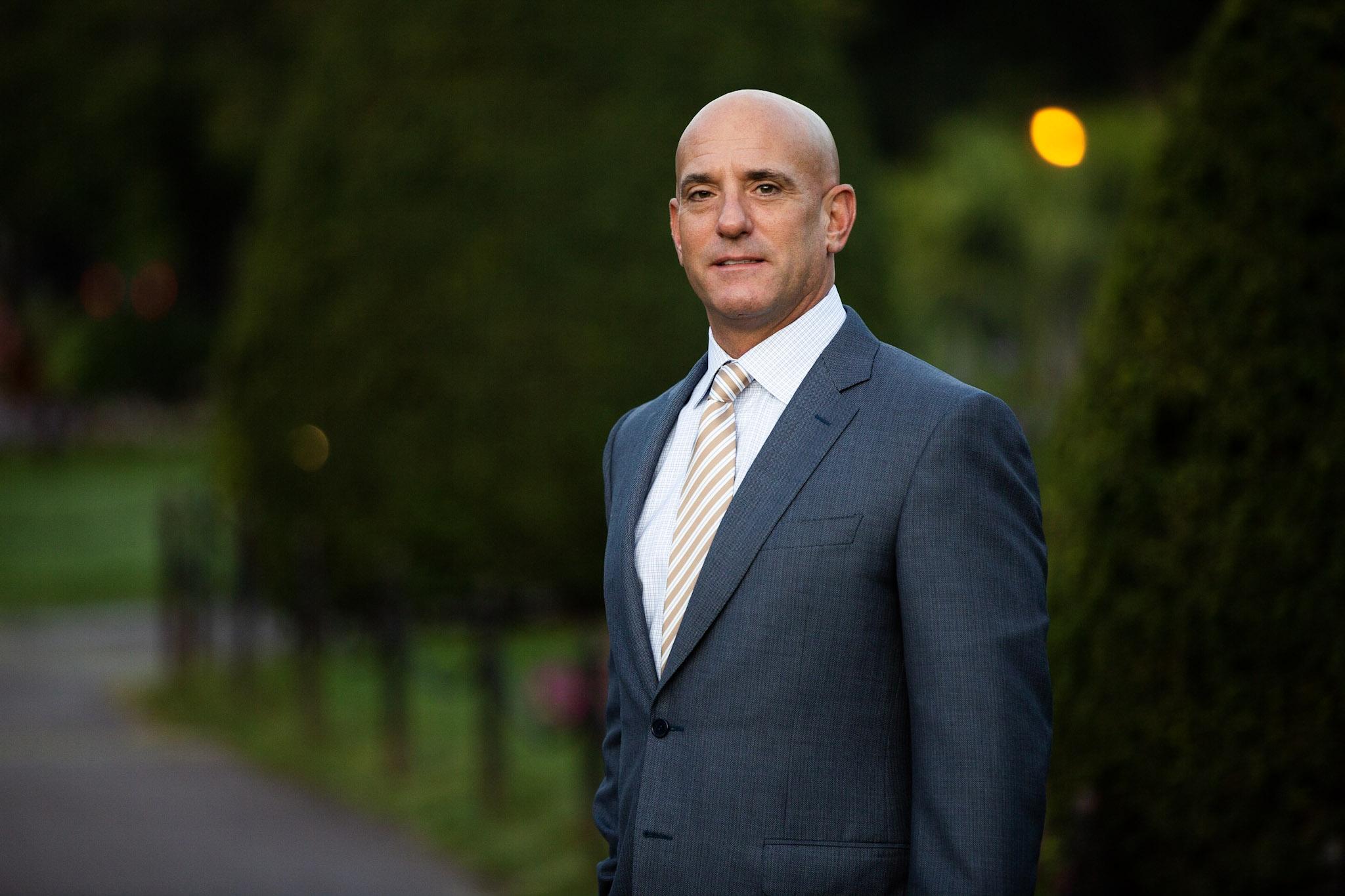 Photo of Demetrios Salpoglou, CEO of Boston Pads