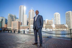 Photo of Boston's Demetrios Salpoglou